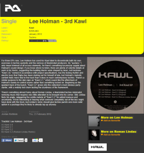 3rd kawl ep resident advisor review