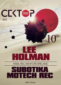 Lee Holman@Sektor 909 - Skopje Macedonia 2